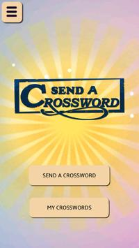 Send A Crossword poster