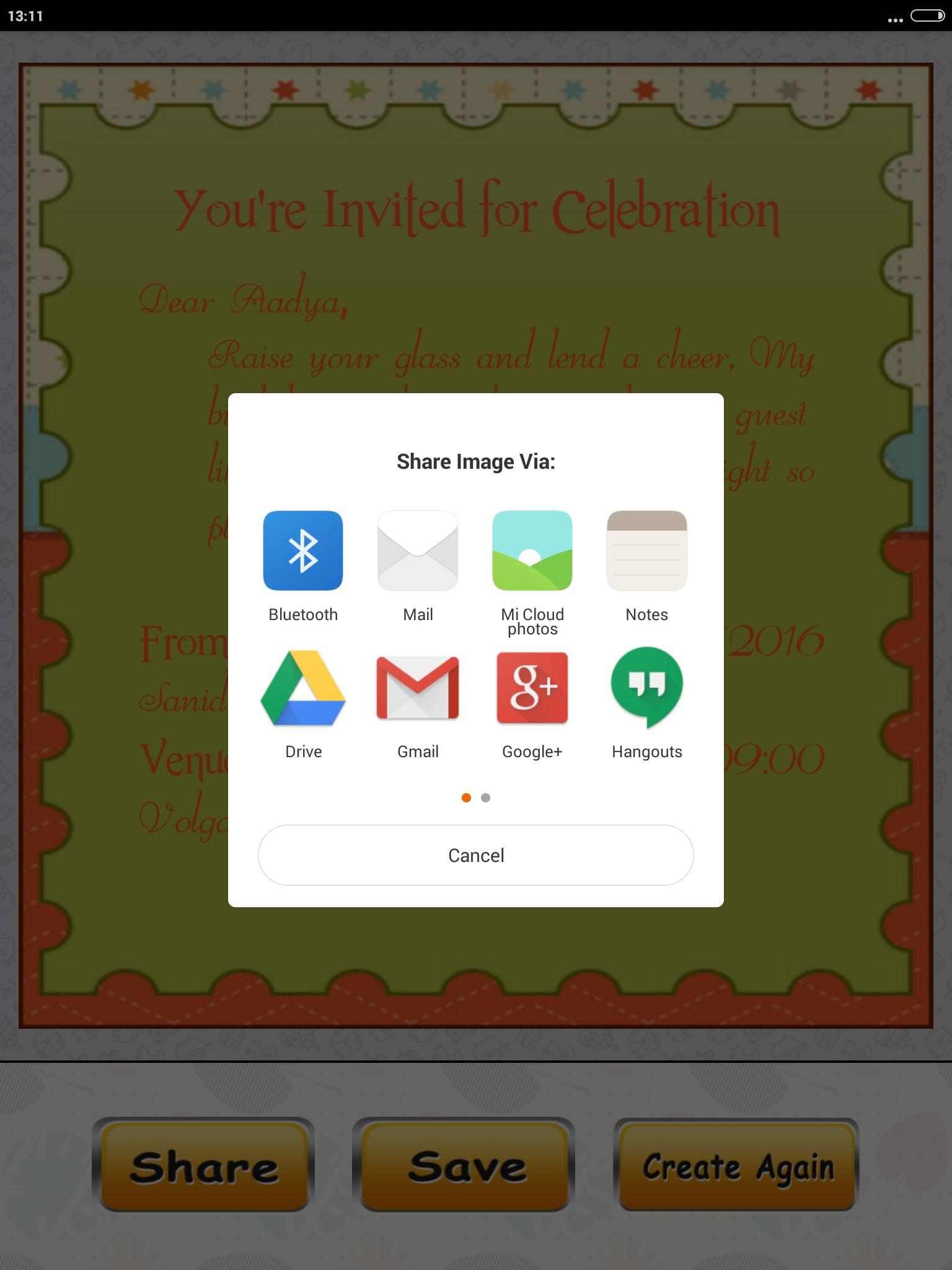Birthday Invitation Card Maker For Android Apk Download