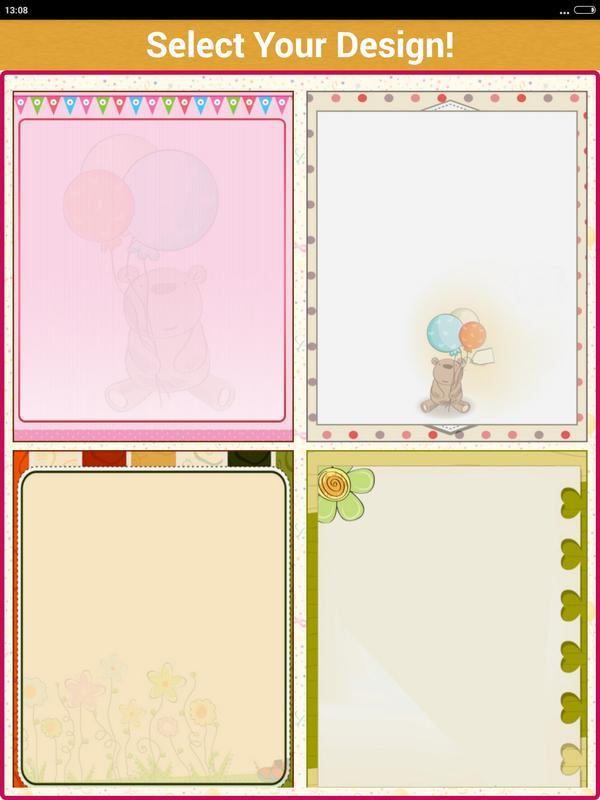 Birthday Invitation Card Maker Screenshot 16