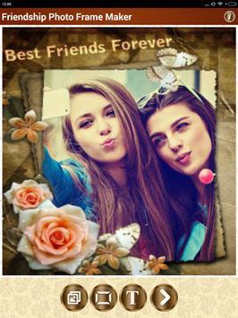Friendship Photo Frame Maker screenshot 8