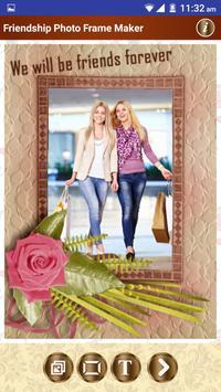 Friendship Photo Frame Maker poster