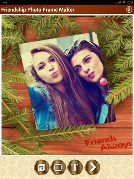 Friendship Photo Frame Maker screenshot 17