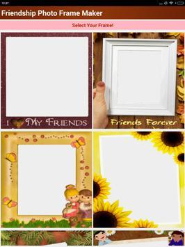 Friendship Photo Frame Maker screenshot 20