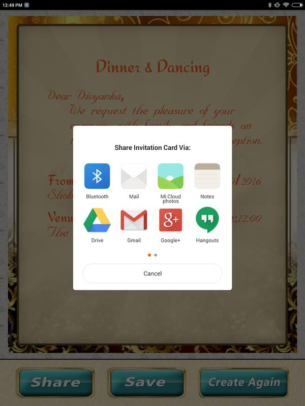 wedding invitation cards maker marriage card app for android apk