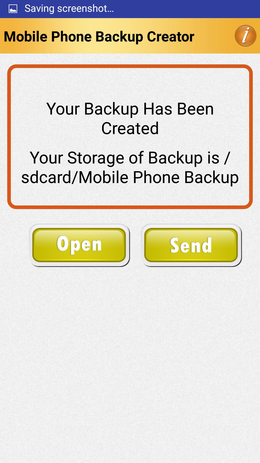 Mobile Phone Excel Backup SMS Contact XLS Maker for Android