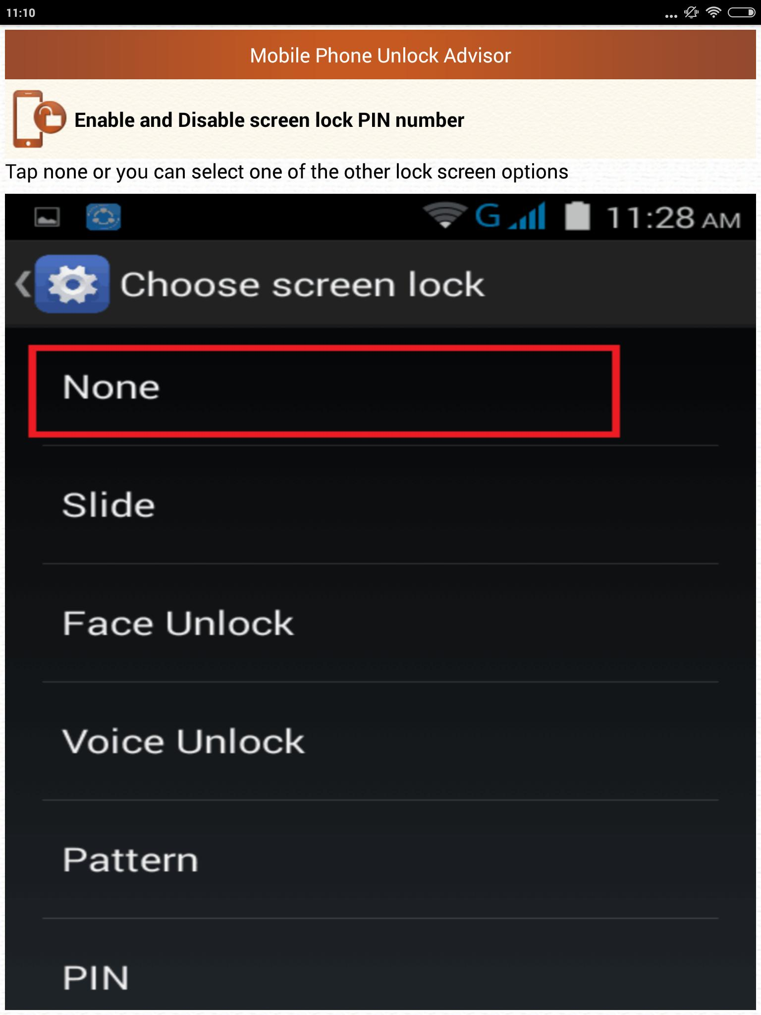Clear Mobile Password PIN Help for Android - APK Download