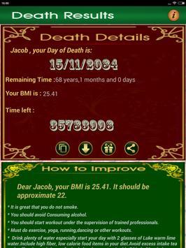 Death Date Calculator screenshot 13