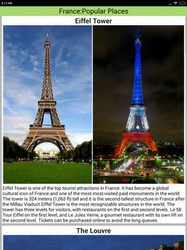 France Popular Tourist Places screenshot 12