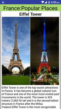 France Popular Tourist Places screenshot 1