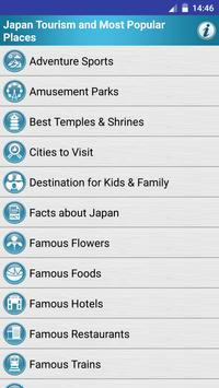 Japan Popular Tourist Places poster