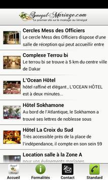 Senegal Mariage screenshot 2
