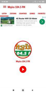 Nhyira 104.5 FM poster