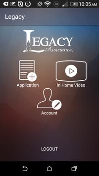 Legacy Assurance screenshot 2