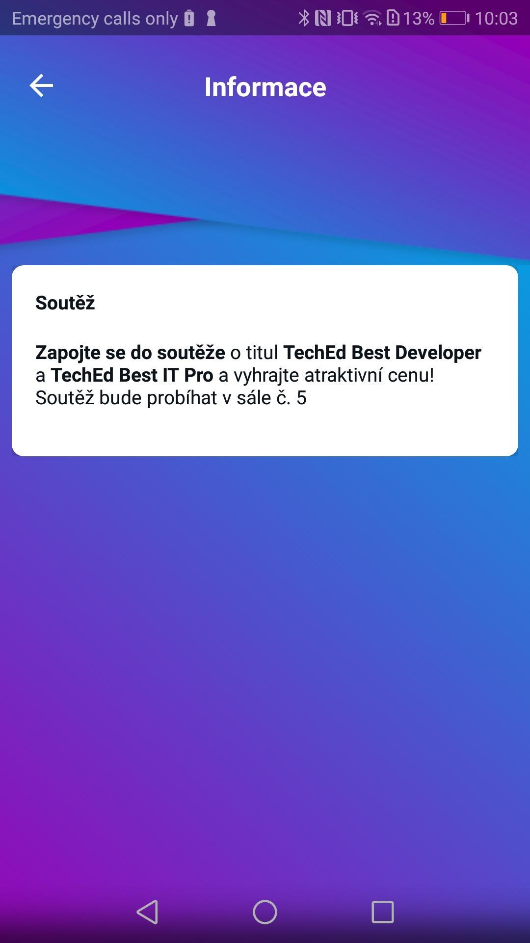 TechEd - DevCon 2019 for Android - APK Download