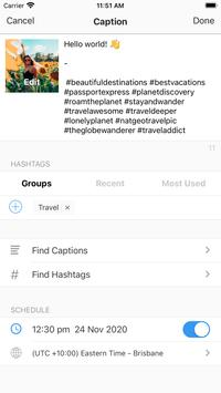 Preview - Plan your Instagram poster