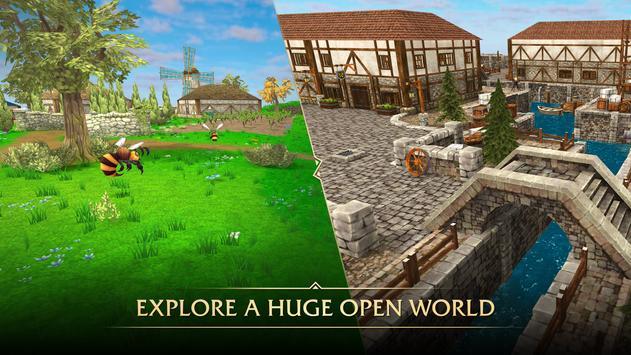 MMO RPG Ancients Reborn - MMORPG تصوير الشاشة 1