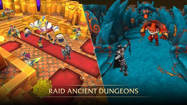 MMO RPG Ancients Reborn - MMORPG تصوير الشاشة 4