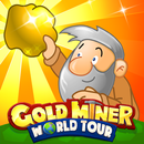 Gold Miner World Tour: Gold Rush Puzzle RPG Game APK
