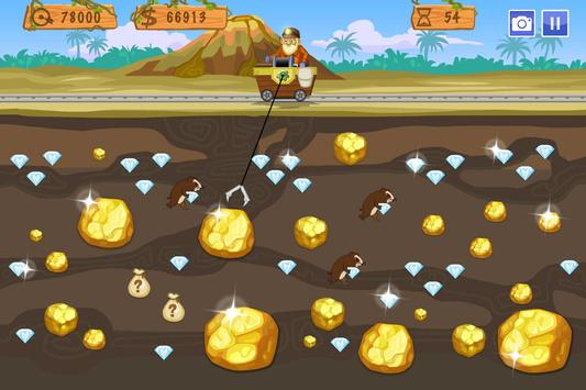 Gold Miner World Tour screenshot 1