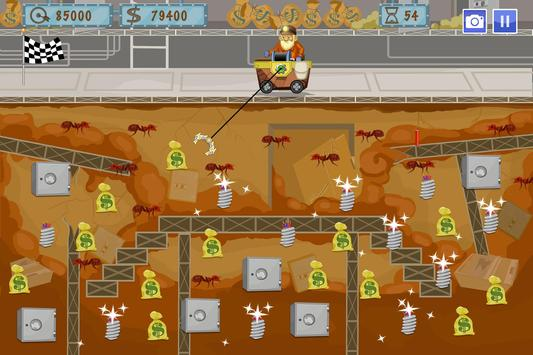 Gold Miner World Tour captura de pantalla 2