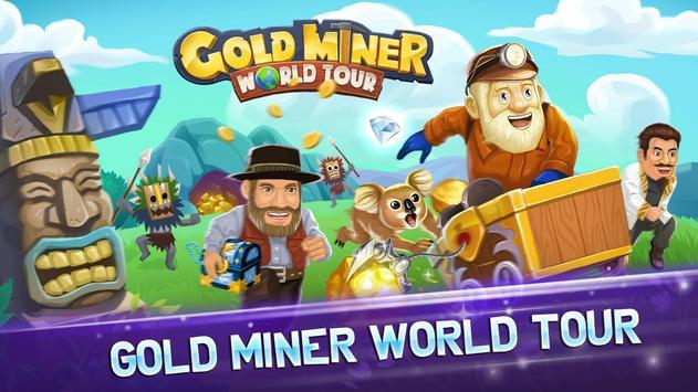 Gold Miner World Tour captura de pantalla 5