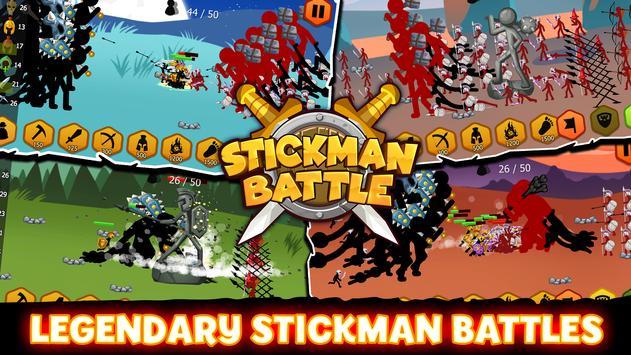 Stickman Battle 스크린샷 6