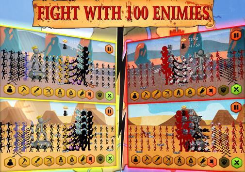 Stickman Battle Ekran Görüntüsü 9
