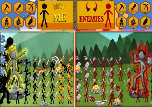 Stickman Battle Ekran Görüntüsü 11