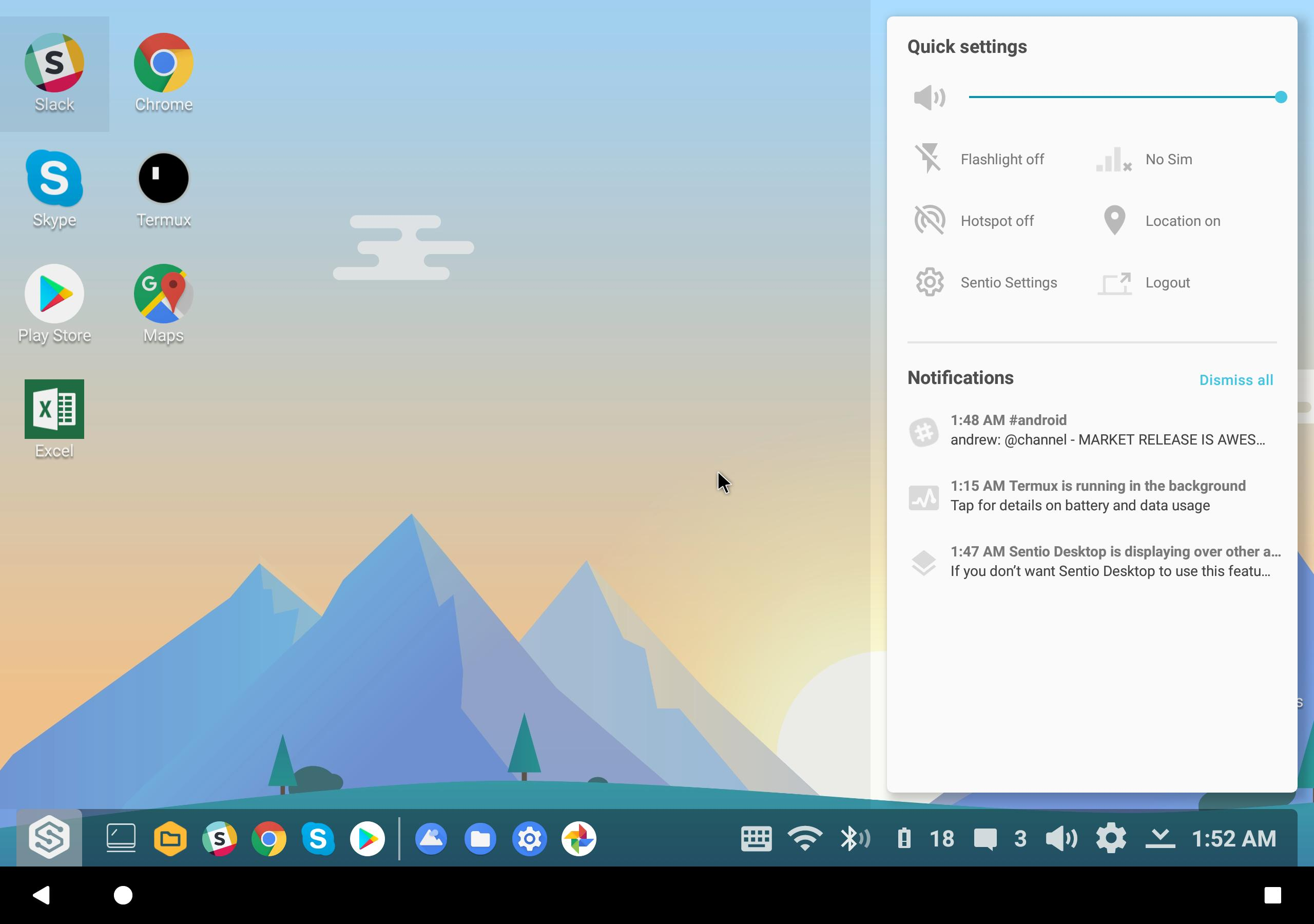Sentio Desktop for Android - APK Download