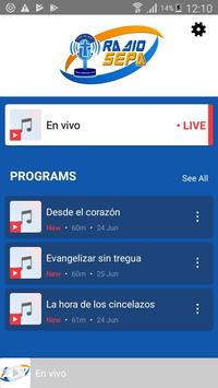 Radio Sepa screenshot 1