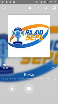 Radio Sepa screenshot 2