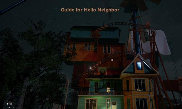 Guide 2020 for Hi Neighbor Alpha 4 скриншот 1