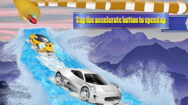 Water Car Slider Simulator 3d screenshot 1
