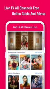 Live TV Channels Free Online Guide screenshot 3