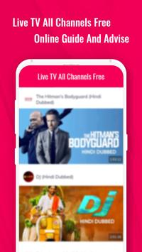 Live TV Channels Free Online Guide screenshot 2