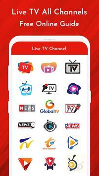 Live TV Channels Free Online Guide screenshot 4