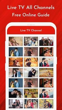 Live TV Channels Free Online Guide screenshot 2