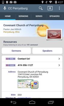Covenant Church of Perrysburg poster