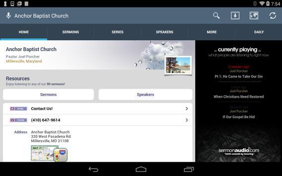 Anchor Baptist Church screenshot 4