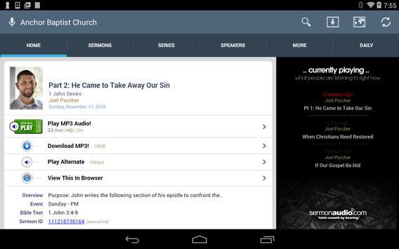 Anchor Baptist Church screenshot 5