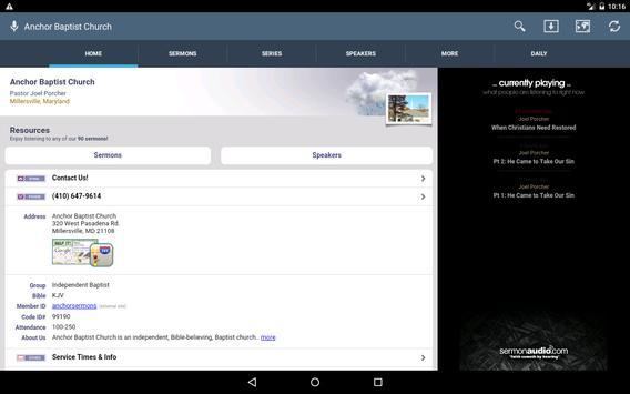 Anchor Baptist Church screenshot 8