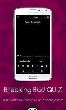 Breaking Bad QUIZ poster