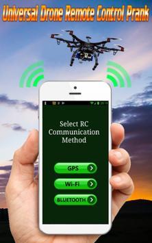 Drone Universal Remote Control Prank All Drones screenshot 3