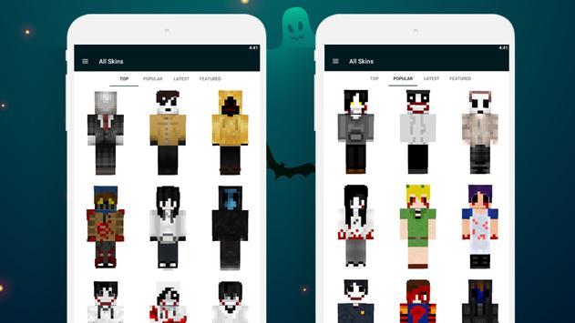 Creepypasta Skins screenshot 3