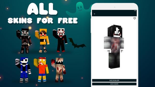 Creepypasta Skins screenshot 2