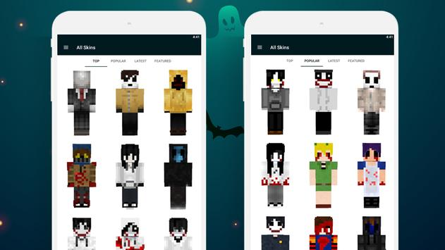 Creepypasta Skins screenshot 6