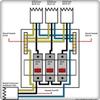 系列电气布线安装的 图标
