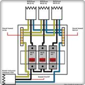 전기 배선 설치 시리즈 아이콘