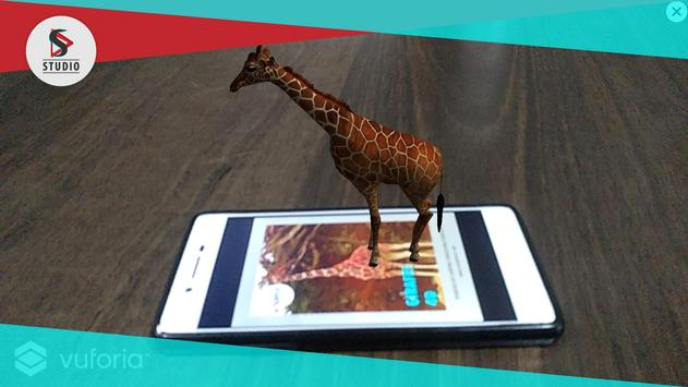 Animal AR Experience screenshot 1