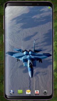 F-15 Eagle Pattern Lock & Backgrounds screenshot 5